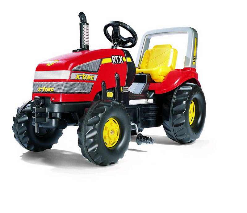 Rollytoys rollyX-Trac traptractor met rolbeugel